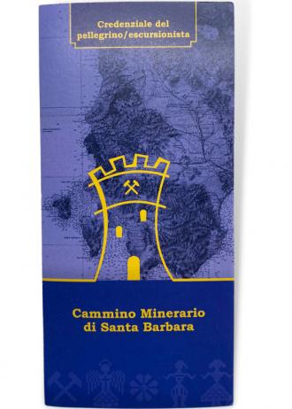 Credenziale minerario di Santa Barbara