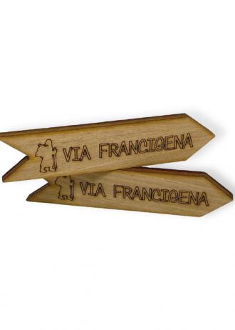 Freccia Via Francigena Spilla (4)