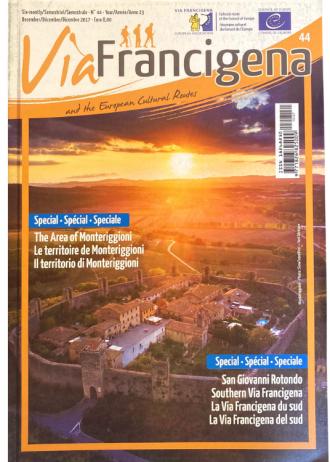 """Rivista """"Via Francigena and the European Cultural Routes"""" n.44"""