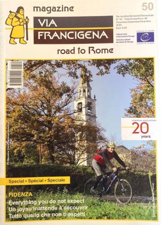 """Rivista """"Via Francigena and the European Cultural Routes"""" n.50"""