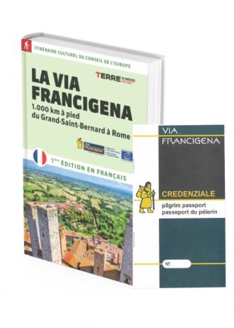 Guida e credenziale Via Francigena
