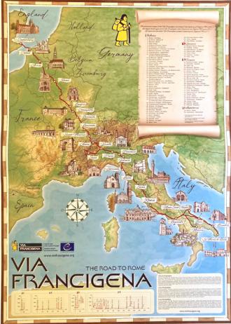Poster Via Francigena