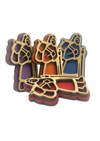 Spille pellegrino multicolore