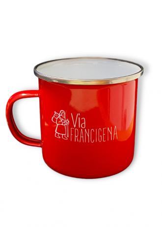 Tazza Rossa Via Francigena (1)