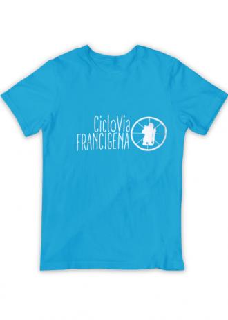 T-Shirt CicloVia (azzurra)