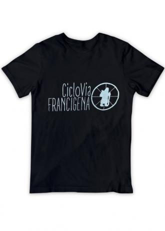 T-Shirt CicloVia(nera)