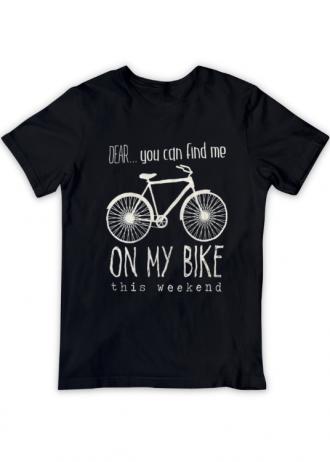 T-Shirt Dear…on my bike