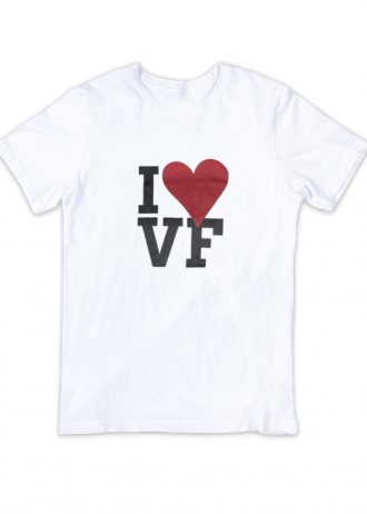 T-Shirt I Love VF (Bianco)