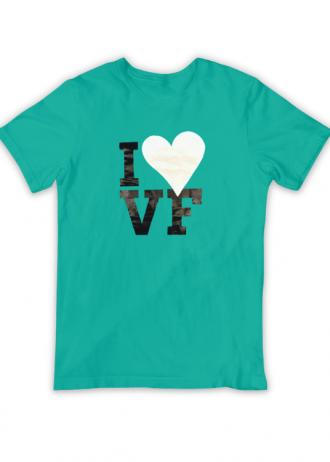 T-Shirt I Love VF (Verde)